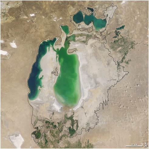 Mar Aral año 2003