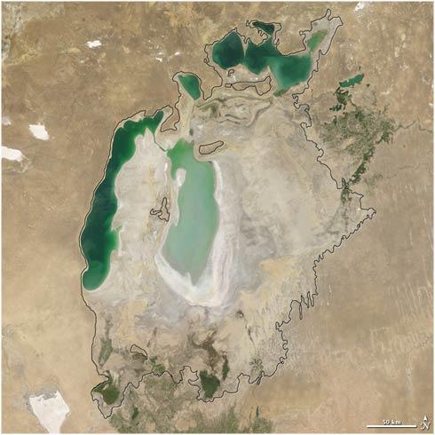 Mar Aral año 2007