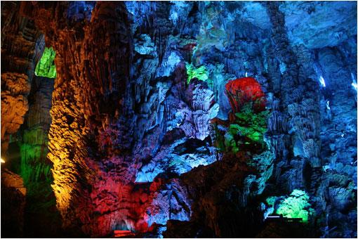 Sorprendente cueva en China