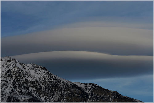 Nube lenticular sobre Monte Timpanogos en Utah arbyreed's photostream