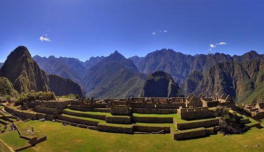 Machu Pichu fotografia panoramica 360 grados